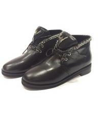 Ботинки осенние женские Giuseppe Zanotti (Дзужеппе Занотти) Black