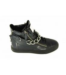 Ботинки мужские Giuseppe Zanotti (Джузеппе Занноти) Black High