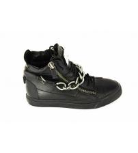 Мужские ботинки Giuseppe Zanotti (Джузеппе Занноти) Black