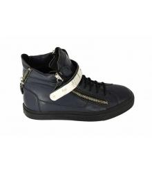 Ботинки осенние Giuseppe Zanotti (Джузеппе Занноти) Blue High