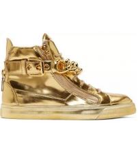 Кроссовки Giuseppe Zanotti (Дзужеппе Занотти) Gold