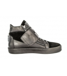 Осенние ботинки Giuseppe Zanotti Black High