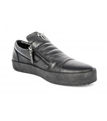 Осенние ботинки Giuseppe Zanotti Black Monolith