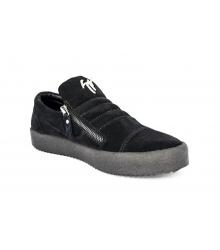 Осенние ботинки Giuseppe Zanotti Black Velvet