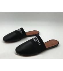 Женские мюли Givenchy (Живанши) кожаные Black