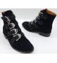Женские ботинки Givenchy (Живанши) замшевые Black