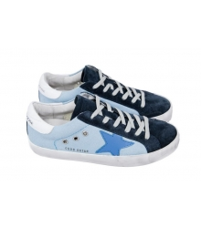 Женские кроссовки Golden Goose Deluxe Brand Blue Star