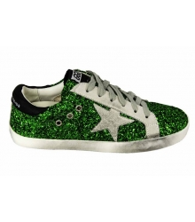 Кеды Golden Goose (Золотой Гусь) Deluxe Brand Green Light
