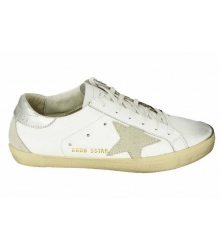 Кеды Golden Goose (Золотой Гусь) Deluxe Brand Star White/Grey
