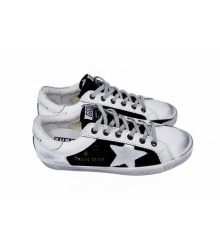 Женские кеды Golden Goose Deluxe Brand White/Black