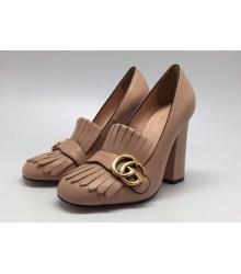 Женские туфли Gucci (Гуччи) Beige