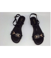 Сандалии женские Gucci (Гуччи) Black