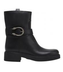 Сапоги женские Gucci (Гуччи) Black/Silver