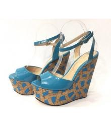 Босоножки женские Gucci (Гуччи) Blue