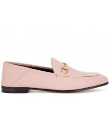 Женские лоферы Gucci (Гуччи) Brixton летние Pink