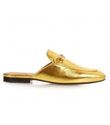 Лоферы женские Gucci (Гуччи) Gold