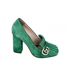 Туфли женские Gucci Green