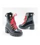 Ботинки женские Gucci (Гуччи) кожаные Black