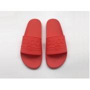 Шлепанцы женские Gucci (Гуччи) летние резиновые Red