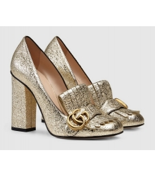 Летние туфли Gucci Light Gold