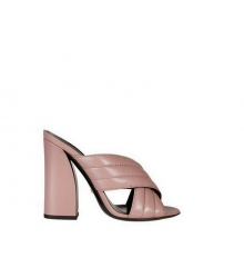 Сабо Gucci (гуччи) Pink