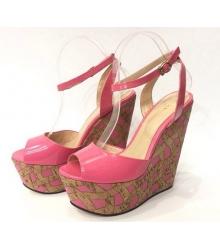 Босоножки женские Gucci (Гуччи) Pink