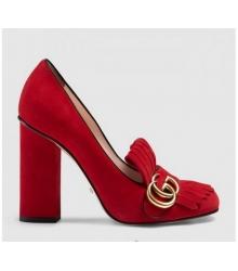 Летние туфли Gucci Red