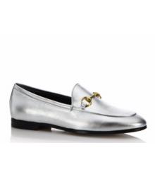 Лоферы женские Gucci (Гуччи) Silver