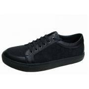 Мужские кроссовки Gucci (Гуччи) Sport New Black