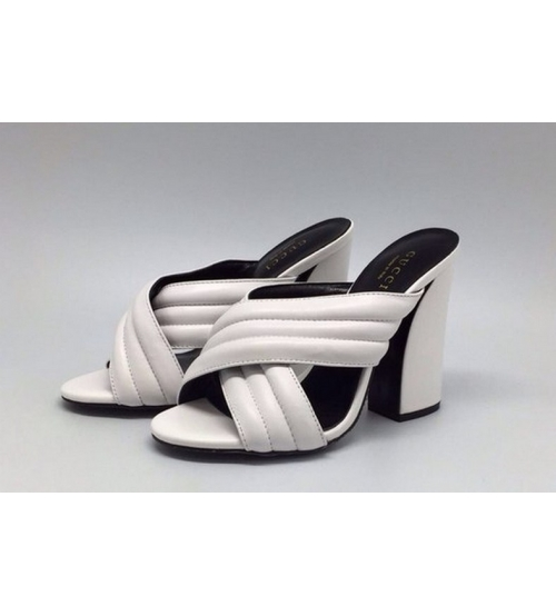 Сабо женские Gucci (Гуччи) White
