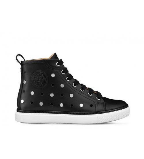 Кеды женские Hermes (Гермес) Jimmy sneaker High Black - 15 550 руб ... 1894e2c77d0