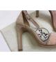 Женские босоножки Hermes ( Гермес) Premiere sandal летние текстиль на высоком каблуке шпилька Purple