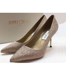 Туфли женские Jimmy Choo (Джимми Чу) брендовые Gold