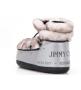 Луноходы женские Jimmy Choo (Джимми Чу) зимние на меху Silver