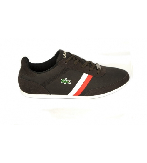 Кроссовки Lacoste Misano Brown/White/Red