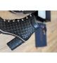 Ботильоны женские Le Silla (Ле Силла) St.Moritz Trekking кожаные толстый каблук на шнуровке Black