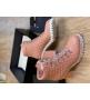 Ботильоны женские Le Silla (Ле Силла) St.Moritz Trekking кожаные толстый каблук на шнуровке Pink