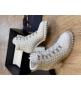 Ботильоны женские Le Silla (Ле Силла) St.Moritz Trekking кожаные толстый каблук на шнуровке White