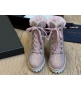 Ботильоны женские Le Silla (Ле Силла) St.Moritz Trekking кожаные толстый каблук со стразами Pink