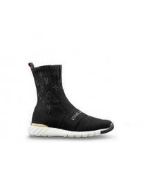 Женские кроссовки Louis Vuitton (Луи Виттон) Aftergame Black