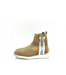 Женские кроссовки Louis Vuitton (Луи Виттон) Aftergame с логотипом Brown