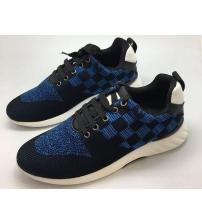 Кеды мужские Louis Vuitton (Луи Виттон) Black\Blue