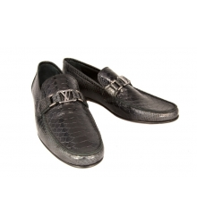 Мокасины мужские Louis Vuitton (Луи Виттон) Black