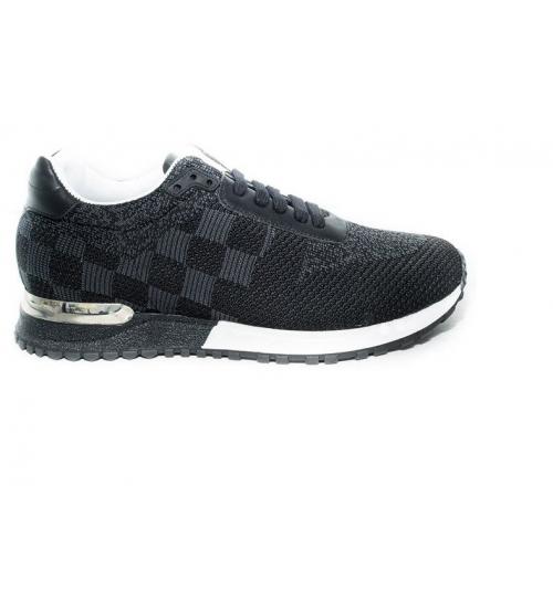 Мужские кроссовки Louis Vuitton (Луи Виттон) Black