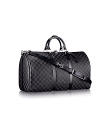 Сумка дорожная Louis Vuitton (Луи Виттон) Grey/Black