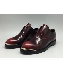 Ботинки женские Louis Vuitton (Луи Виттон) Bordo