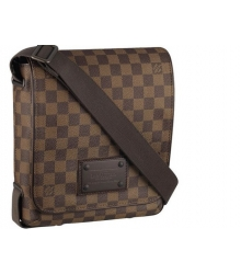 Сумка мужская Louis Vuitton (Луи Виттон) Brooklyn PM Damier Brown