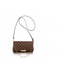 Клатч сумка женская Louis Vuitton (Луи Виттон) Brown