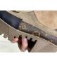 Ботинки женские на танкетке Louis Vuitton (Луи Виттон) Brown/Kozha