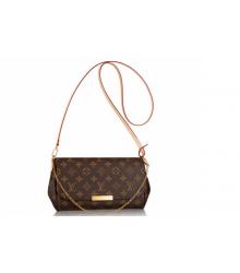 Женская сумка клатч Louis Vuitton (Луи Виттон) Brown
